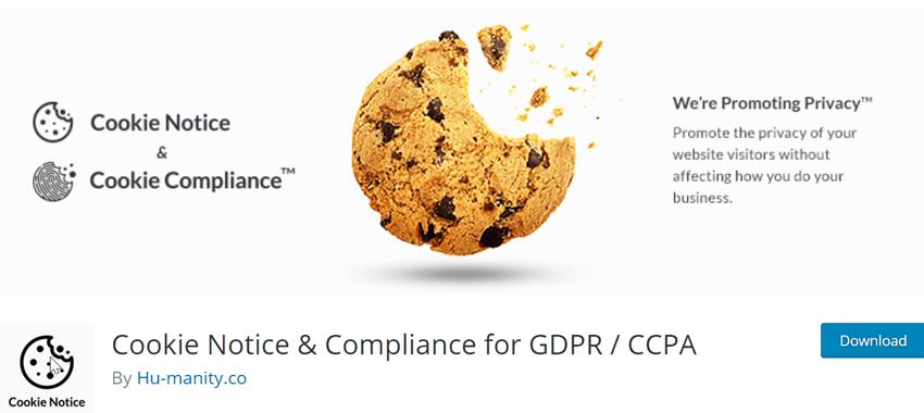 Cookie Notice & Compliance