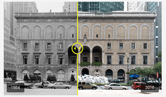 Custom Color and Offset of before and after image