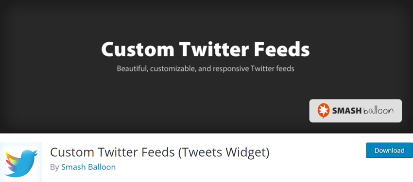 Custom Twitter Feeds (Tweets Widget)