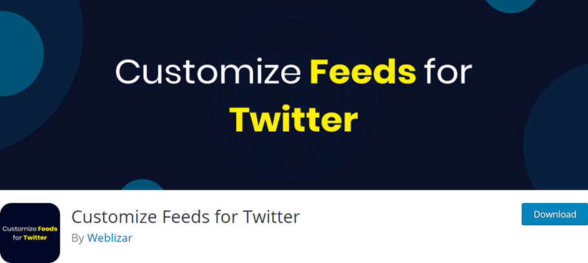 Customize Feeds for Twitter
