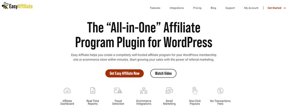 Easy Affiliate All in one affiliate program for wordpress