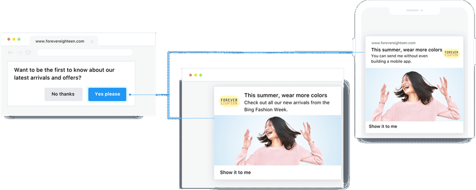 Engage web push notification plugin