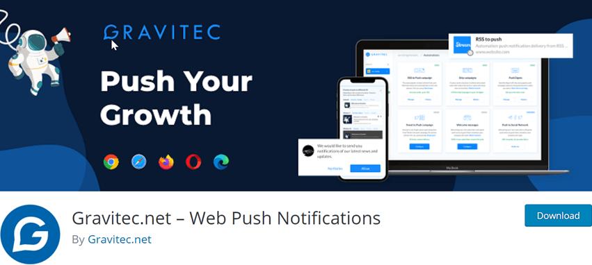 Gravitec.net – Web Push Notifications