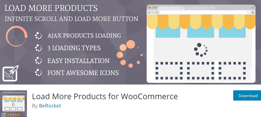 Load More Products for WooCommerce