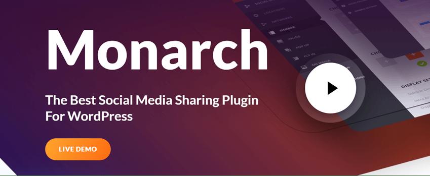 Monarch Social Media Sharing Plugin