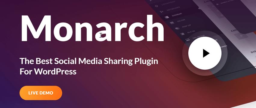Monarch The Best Social Media Sharing Plugin For WordPress