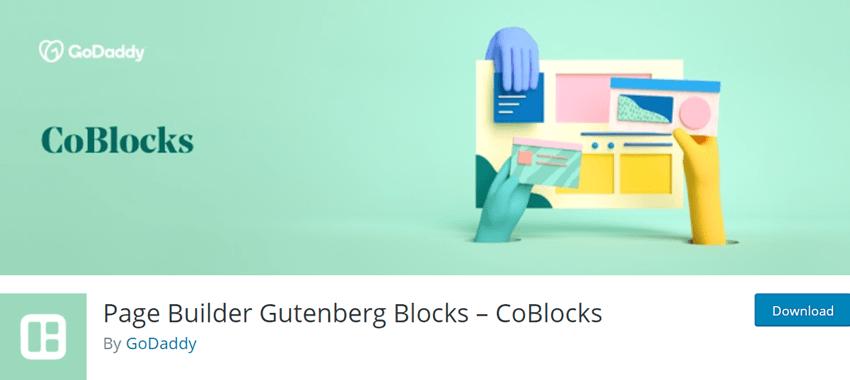 Page Builder Gutenberg Blocks – CoBlocks