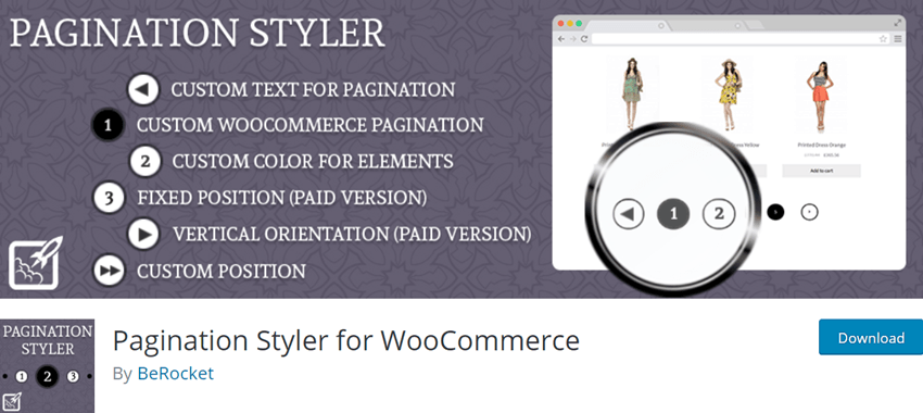 Pagination Styler for WooCommerce