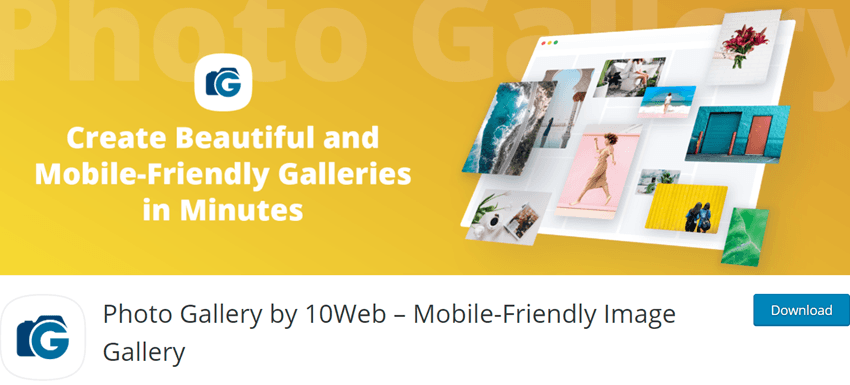 Photo Gallery by 10Web – Mobile-Friendly Image Gallery Plugin