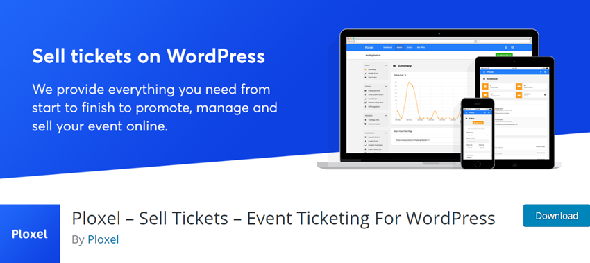 Ploxel – Sell Tickets – Event Ticketing For WordPress