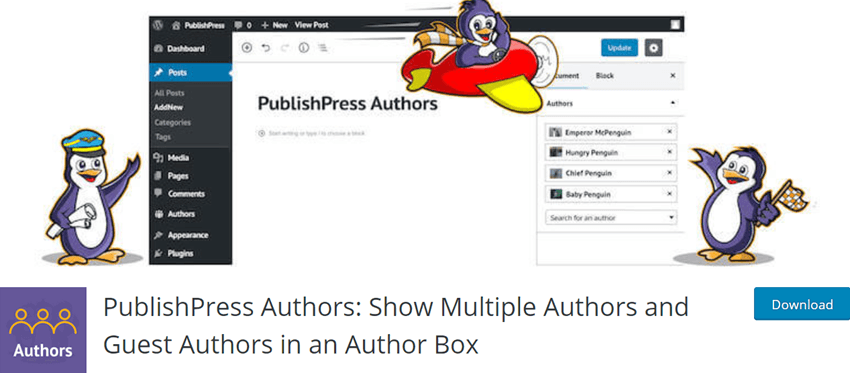 PublishPress Authors Show Multiple Authors and Guest Authors in an Author Box