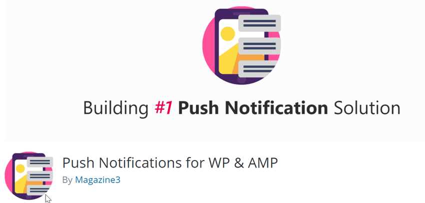 Push Notifications for WP & AMP