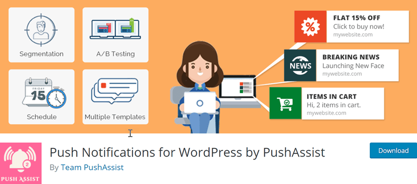 Push Notifications for WordPress by PushAssist