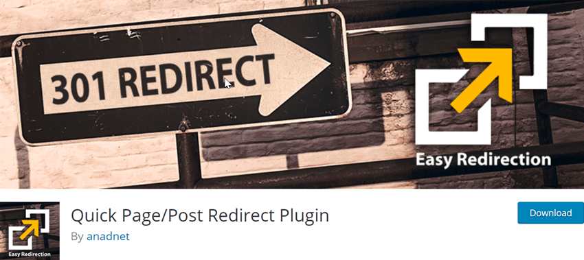 Quick Page-Post Redirect Plugin