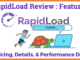 RapidLoad Review Details, Features, Pricing, & Performance Data