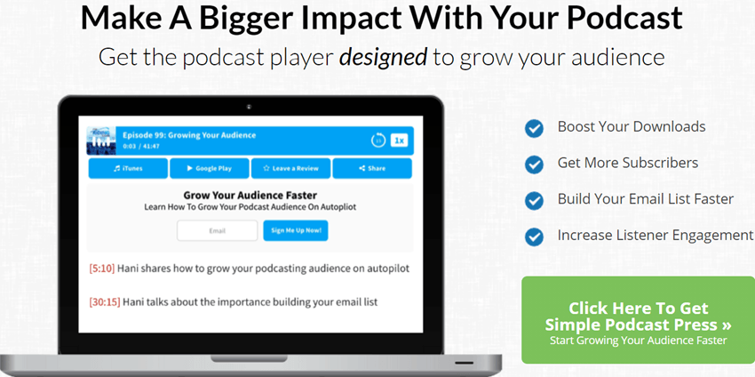 SimplePodcastPress - Make A Bigger Impact With Your Podcast
