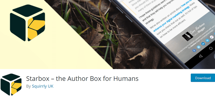 Starbox – the Author Box for Humans