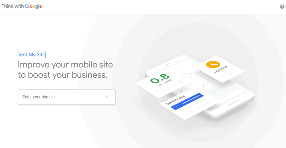 Think with Google compare your mobile site speed