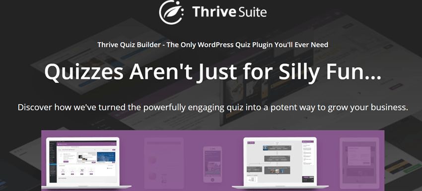 Thrive Quiz Builder plugin