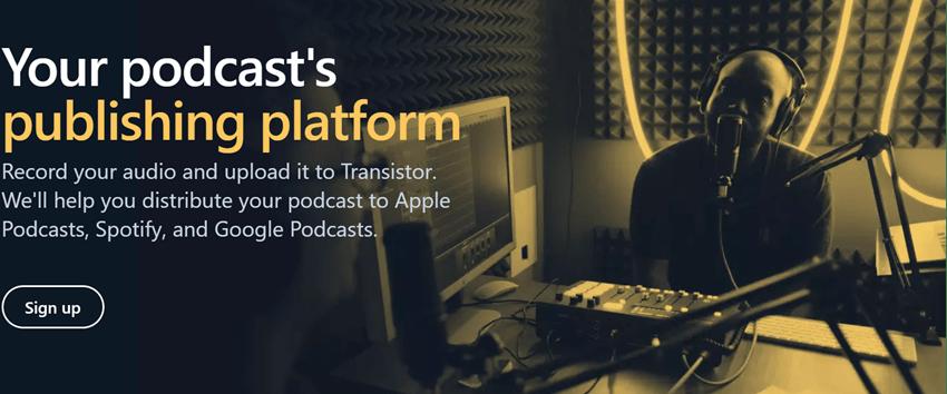 Transistor - Your podcast's Publishing Platform