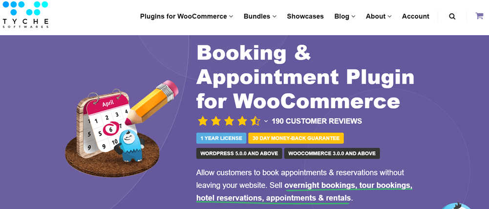 Tyche Softwares Booking & Appointment Plugin for WooCommerce