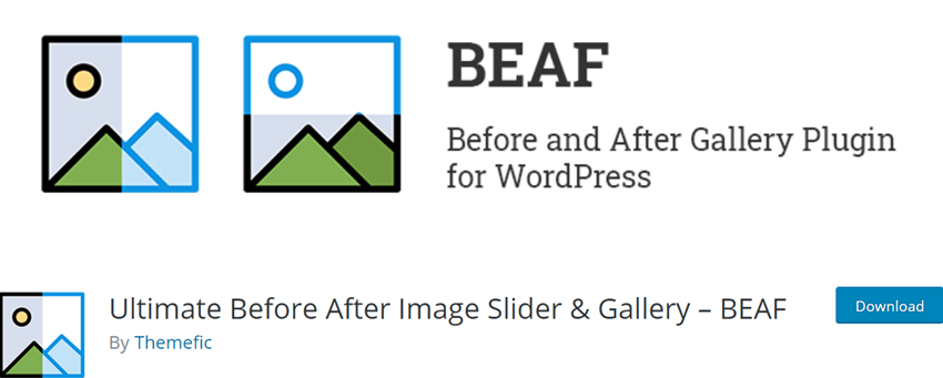 Ultimate Before After Image Slider & Gallery