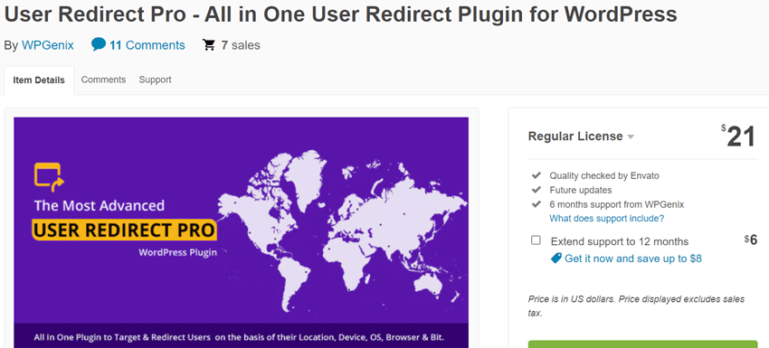 User Redirect Pro - All in One User Redirect Plugin for WordPress