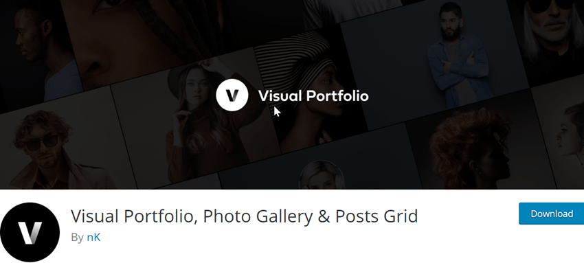 Visual Portfolio, Photo Gallery & Posts Grid Plugin