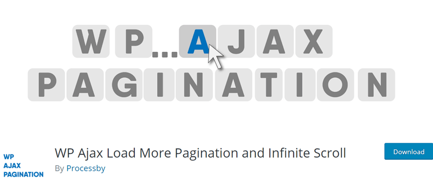 WP Ajax Load More Pagination and Infinite Scroll
