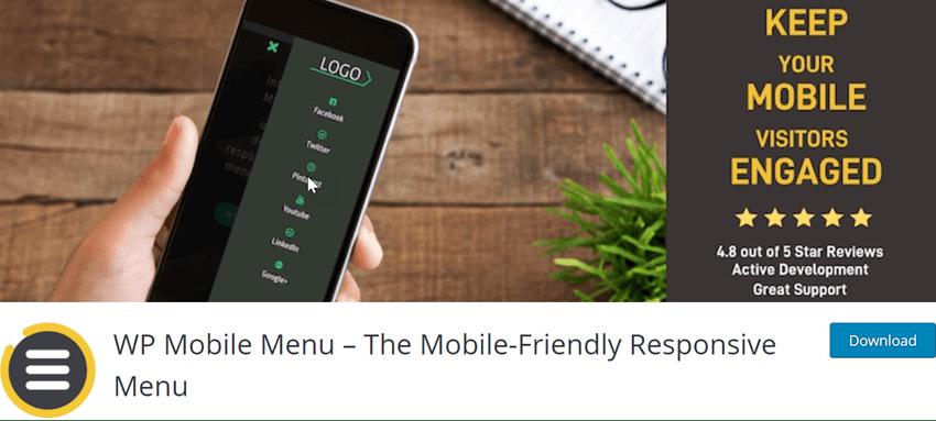WP Mobile Menu – The Mobile-Friendly Responsive Menu