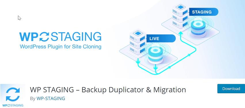 WP STAGING – Backup Duplicator & Migration