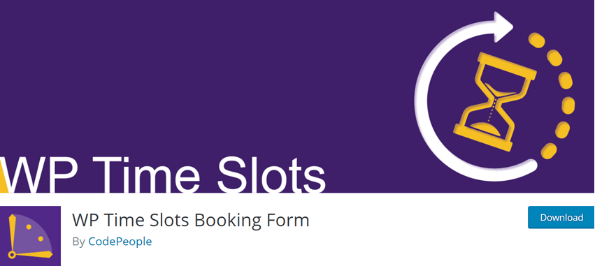 WP Time Slots Booking Form