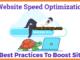 Website Speed Optimization Best Practices To Boost Site Speed