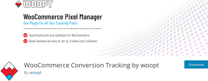 WooCommerce Conversion Tracking by woopt