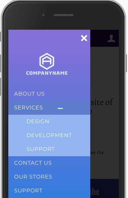 WordPress Mobile MenuMobile Friendle responsive menu left menu demo
