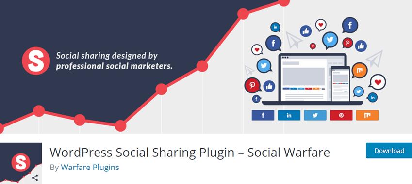 WordPress Social Sharing Plugin – Social Warfare
