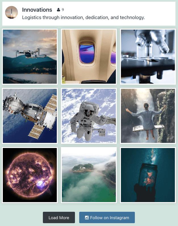 easy social feed social photos gallery wordpress plugin custom instagram feed in grid layout