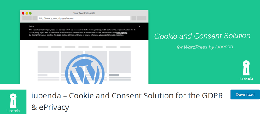 iubenda – Cookie and Consent Solution for the GDPR & ePrivacy