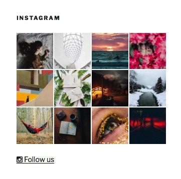 meks easy photo feed widget plugin instagram widget
