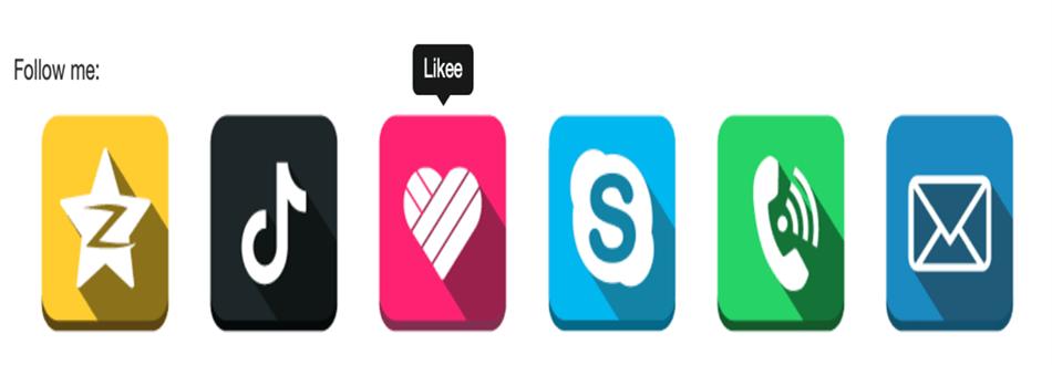 social media follow buttons bar wordpress plugin 100 icons of social media