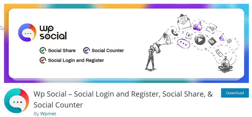 wp-social-Plugin
