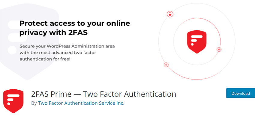 2FAS Prime — Two Factor Authentication