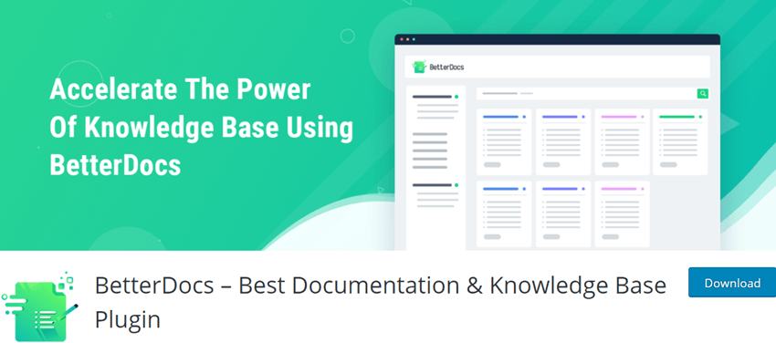 BetterDocs – Best Documentation & Knowledge Base Plugin