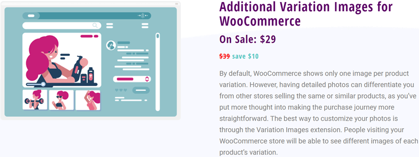 Bright plugin - Additional Variation Images for WooCommerce