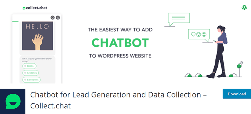 Chatbot for Lead Generation and Data Collection – Collect.chat