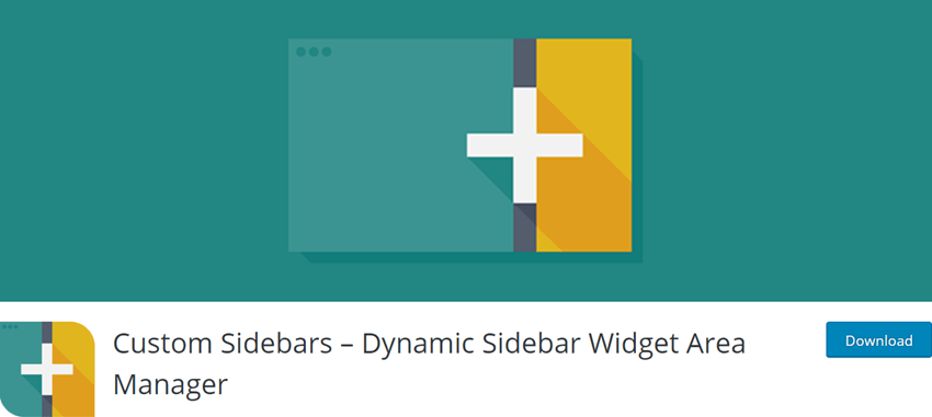Custom Sidebars – Dynamic Sidebar Widget Area Manager