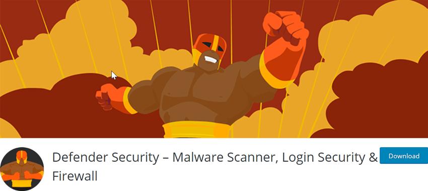 Defender Security – Malware Scanner, Login Security & Firewall
