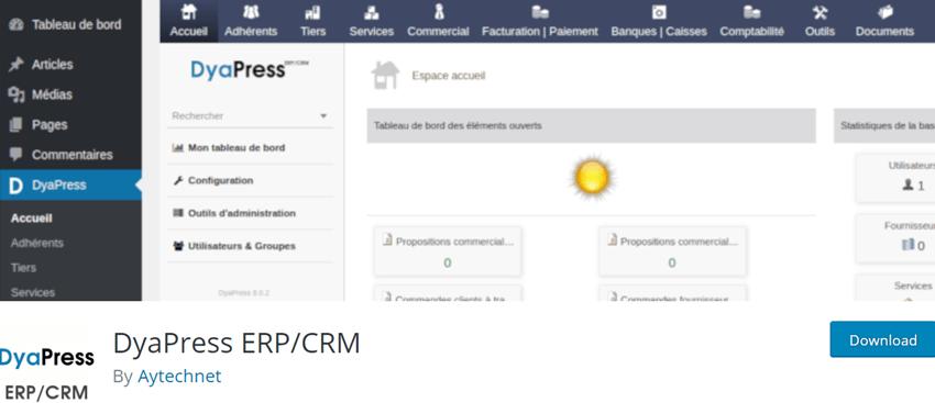 DyaPress ERP-CRM