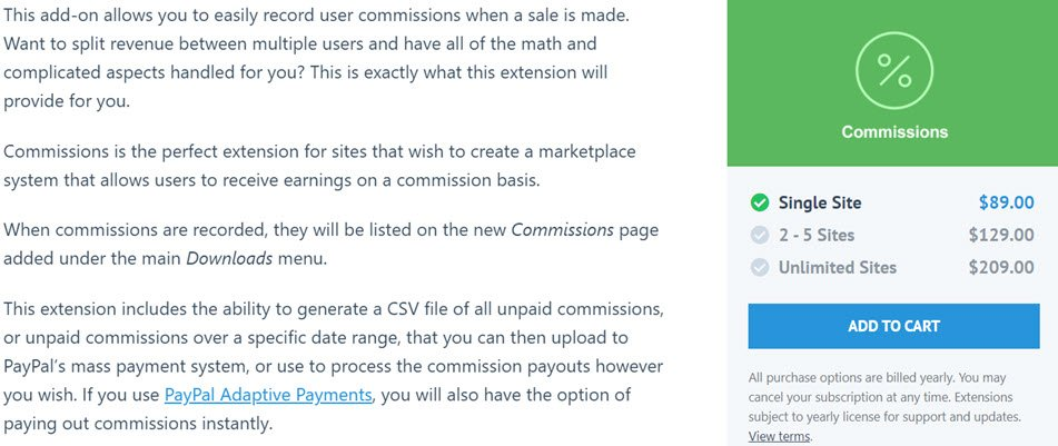 Easy Digital Commissions