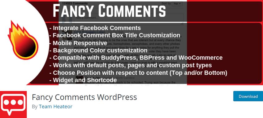 Fancy Comments WordPress